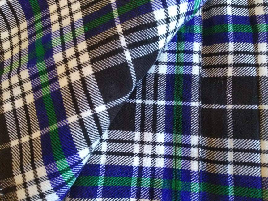 Breton National Tartan Fabric