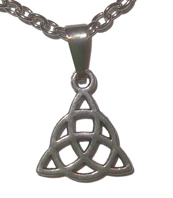 Jewelry Small Triquetra Necklace