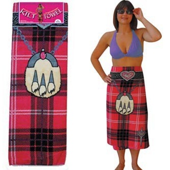 Women's Kilt Towel