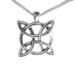Celtic Solar Cross Necklace