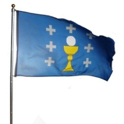 Kingdom of Galicia Flag, Holy Grail