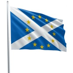 Scotland in Europe - Scottish EU Brexit Flag