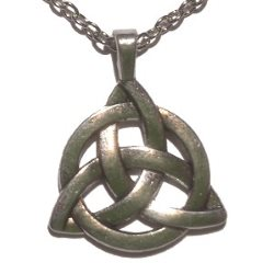 Large Triquetra Necklace