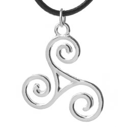 Celtic Triskelion Necklace