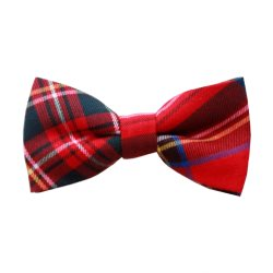Bow Tie in Royal Stewart Tartan