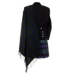 Black Watch Tartan Fly Plaid