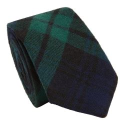 Tie for Black Watch Tartan Kilt