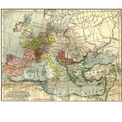 Poster: The Celtic Nations and Europe in 486