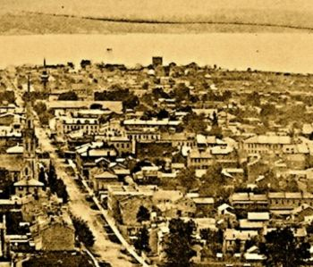 Early Irish immigrants to Ontario, Canada, settled in the new area of Hamilton which became known as Corktown