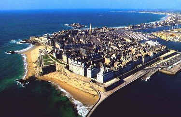 Saint Malo, the jewel of Brittany's Emerald Coast