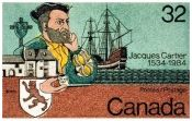 Saint Malo's Jacques Cartier, discoverer of Canada
