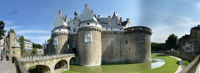 Castle of the Dukes of Brittany, Nantes.